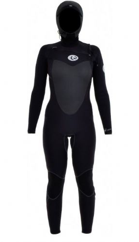 Rip Curl Hooded, Chest Zip Flash Bomb 5/4mm Wetsuit